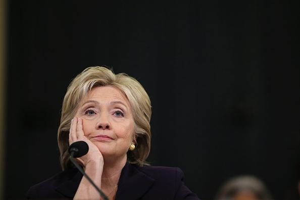 Aunque remota, todavía hay una oportunidad de que Hillary Clinton se convierta en la primera presidente mujer de Estados Unidos. (Somodevilla/Getty Images)