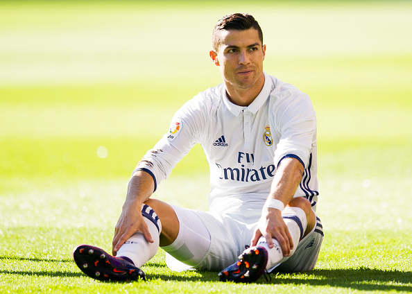 Cristiano Ronaldo del Real Madrid. (Juan Manuel Serrano Arce/Getty Images)