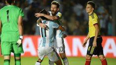 Argentina golea a Colombia y vuelve a los puestos de clasificación de Rusia 2018