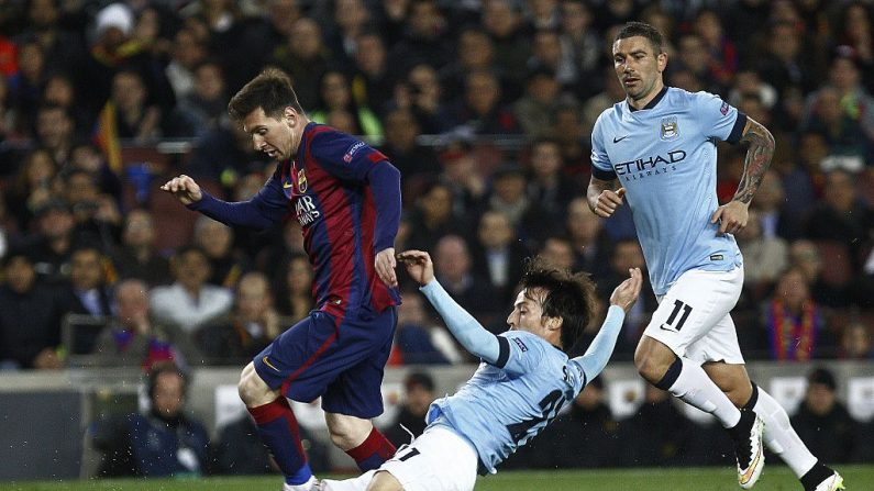 Argentino del Barcelona Lionel Messi (Foto QUIQUE GARCÍA/AFP/Getty Images)