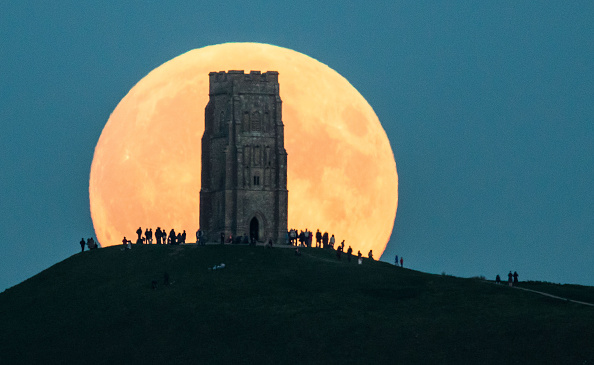 Super Luna Llena (Foto: Matt Cardy/Getty Images)