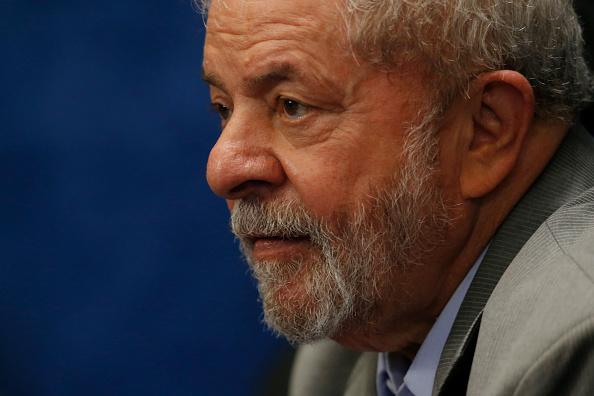 El ex presidente de Brasil Luiz Inácio Lula da Silva. (Igo Estrela/Getty Images)