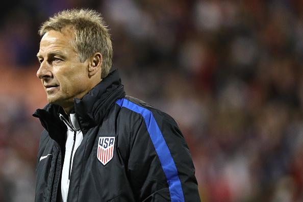 Jurgen Klinsmann de Estados Unidos. (Patrick Smith/Getty Images)