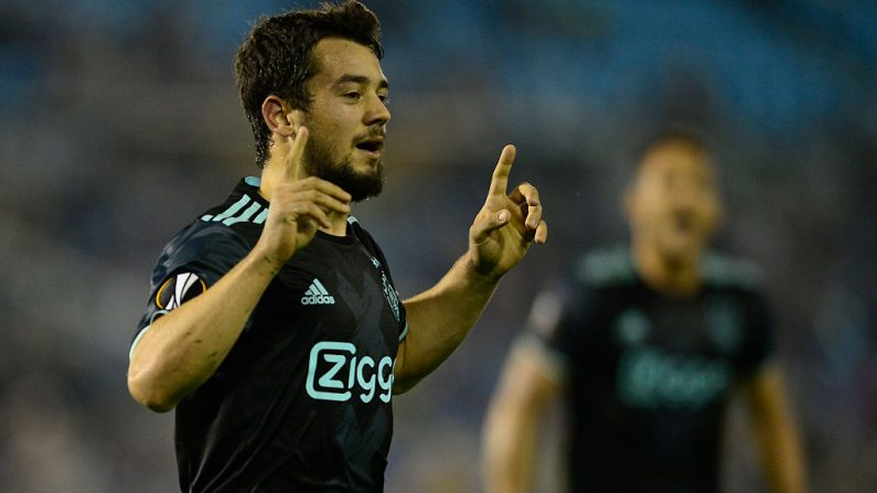 Alemán del Ajax Amin Younes (foto de MIGUEL RIOPA/AFP/Getty Images)