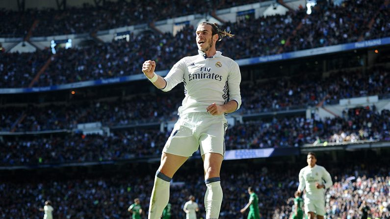 Gareth Bale del Real Madrid. (Foto de Denis Doyle/Getty Images)