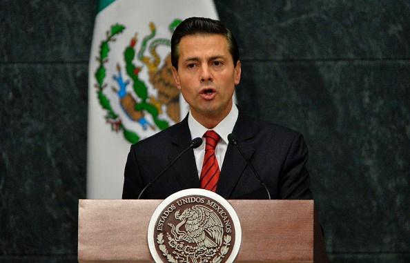 Enrique Peña Nieto. (Foto: PEDRO PARDO/AFP/Getty Images)
