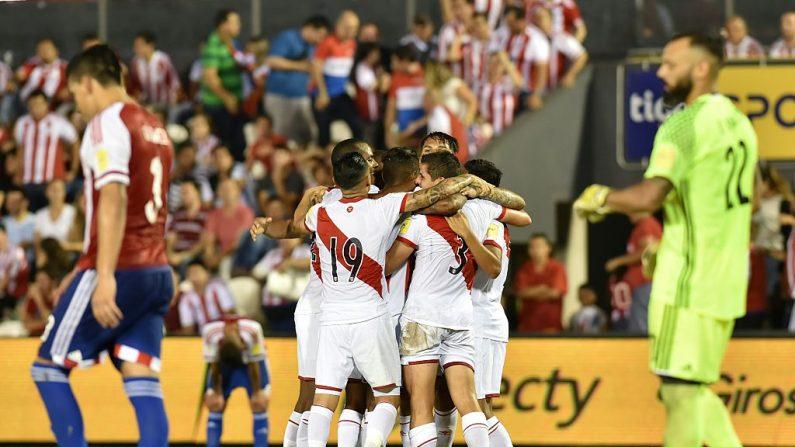 Resultado de imagen para peru paraguay 4 a 1