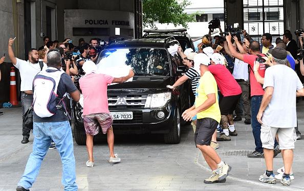 Arresto de Sergio Cabral, exgobernador de Río de Janeiro. (Foto: TASSO MARCELO/AFP/Getty Images)