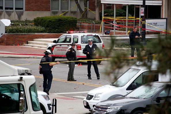 Ataque en el campus de Ohio State University. (Foto: Kirk Irwin/Getty Images)