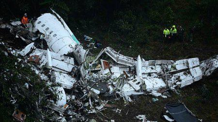 Confirman nuevas revelaciones del avión del Chapecoense en el que murieron 71 personas