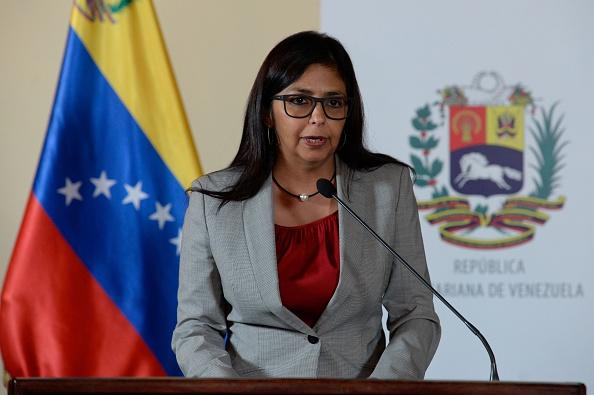 El lunes la canciller de Venezuela, Delcy Rodríguez, será escuchada por el pleno de la OEA. (Foto: FEDERICO PARRA/AFP/Getty Images)