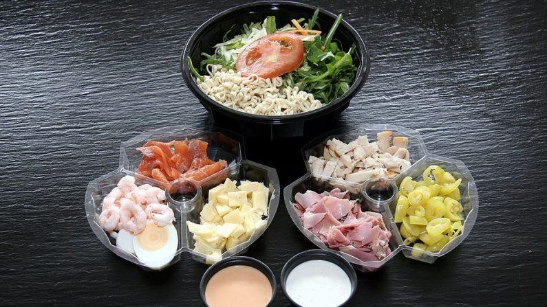 El jugo de las ensaladas podría contaminarse con bacterias. (Foto: Pixabay)