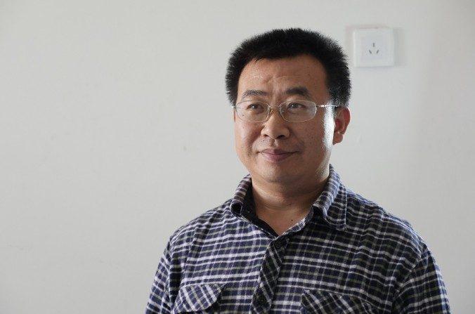 Jiang Tianyong, abogado chino de derechos humanos. (La Gran Época)