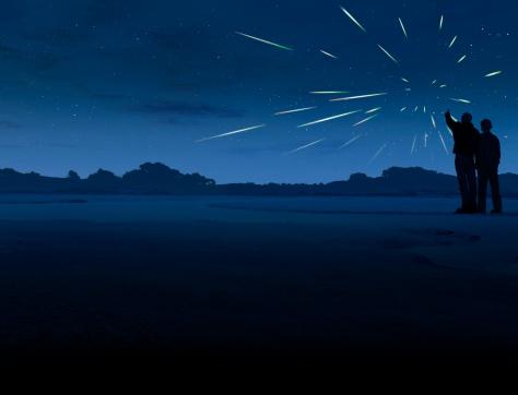 Lluvia de estrellas. (Foto: MARK GARLICK/Getty Images)
