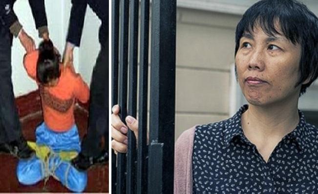 """La misión de Sunny Guo es contarle a las personas del mundo libre sobre la persecución a Falun Dafa en China. """"Esto no solo está relacionado con nosotros. Está relacionado con todo el mundo, con cada vida en este mundo"""", dijo. (Cat Rooney/La Gran Época)"""