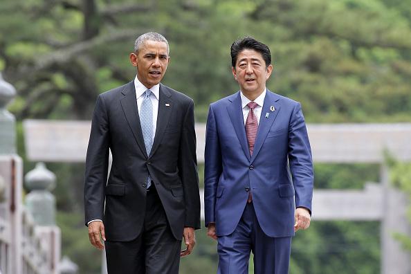El presidente de Estados Unidos, Barack Obama, y el premier de Japón, Shinzo Abe, rendirán homenaje a las víctimas del ataque japonés a Pearl Harbor. (Chung Sung-Jun/Getty Images)