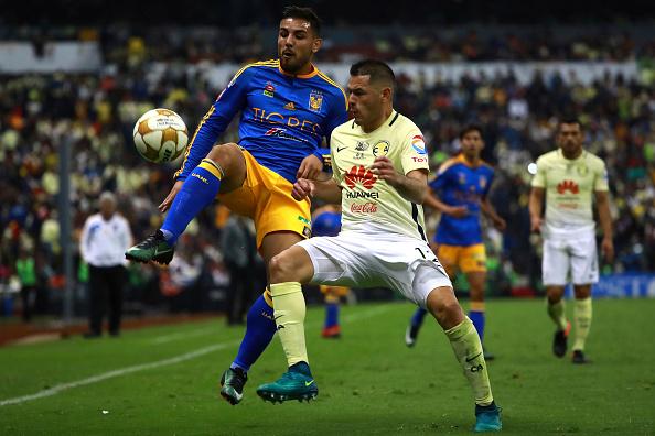 Ciudad de México, 22 de diciembre de 2016 -  America v Tigres UANL disputaron el partido de ida de la Final del Torneo Apertura 2016 de la Liga MX. (Hector Vivas/LatinContent/Getty Images)