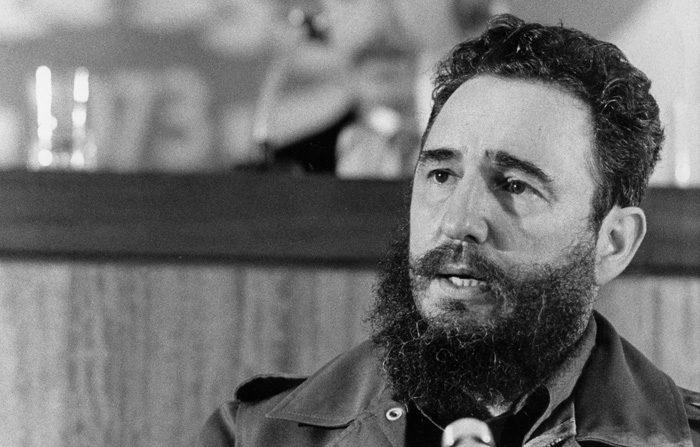 Fidel Castro el 13 de septiembre de 1973. (STIG NILSSON/AFP/Getty)