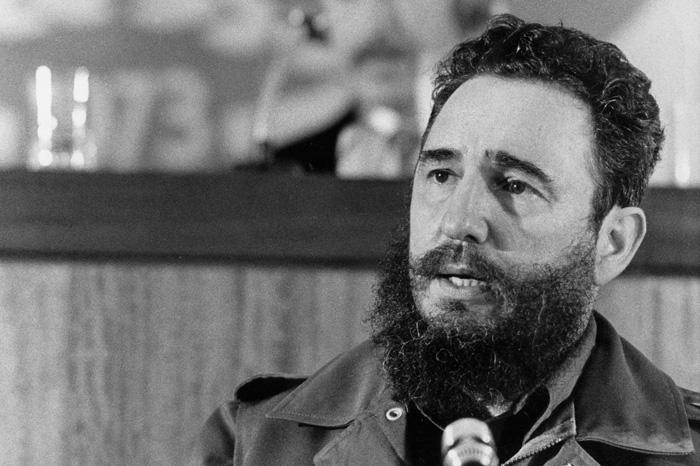 Fidel Castro el 13 de septiembre de 1973 (STIG NILSSON/AFP/Getty)