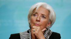 """Christine Lagarde anuncia su """"renuncia temporal"""" a la dirección del FMI"""