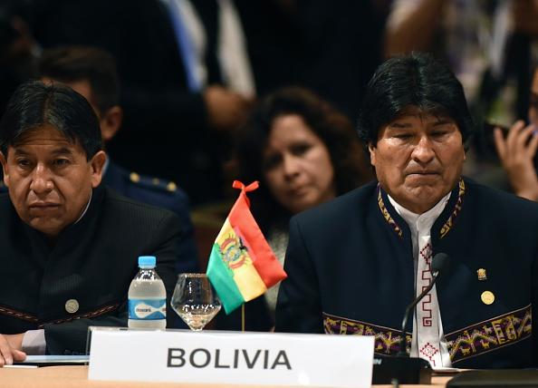 Presidente de Bolivia, Evo Morales. (NORBERTO DUARTE/AFP/Getty Images)