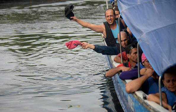 La Guardia Costera de EE.UU. calcula que desde el 1 de octubre pasado, cuando se inició el año fiscal, han intentado entrar ilegalmente en el país por vía marítima cerca de 1.000 cubanos. (Foto: RAUL ARBOLEDA/AFP/Getty Images)