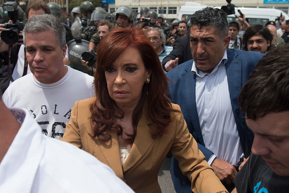 Ex presidenta Cristina Fernández de Kirchner (Foto: EITAN ABRAMOVICH/AFP/Getty Images)