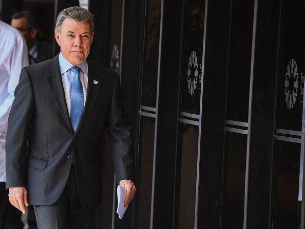 Presidente de Colombia Juan Manuel Santos. (Foto: LUIS ACOSTA/AFP/Getty Images)