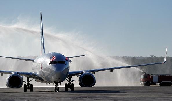 American Airlines era una de las ocho aerolíneas que pugnaban por los derechos de volar entre los Estados Unidos y Cuba cuando el Presidente Obama anunció planes para comenzar a restaurar los viajes. (Foto: YAMIL LAGE/AFP/Getty Images)