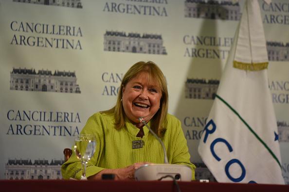El pasado 15 de diciembre la canciller de Argentina, Susana Malcorra, anunció que su país asumió la presidencia. Venezuela entregó un informe con las actividades que se desarrollaron durante el período en que ejerció la presidencia del bloque. (Foto: EITAN ABRAMOVICH/AFP/Getty Images)