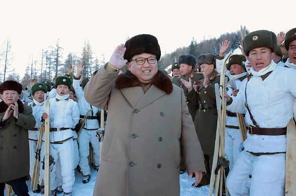 Kim Jong-un (Foto: KNS/AFP/Getty Images)