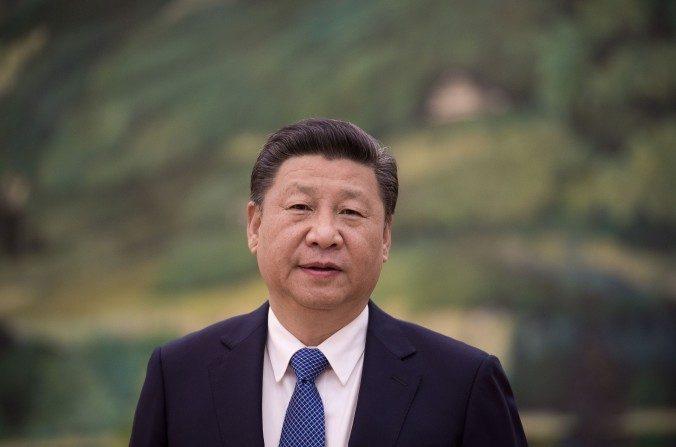 El líder chino Xi Jinping en el Gran Salón del Pueblo en Beijing el 2 de diciembre de 2016. (Nicolas Asfouri / AFP / Getty Images)