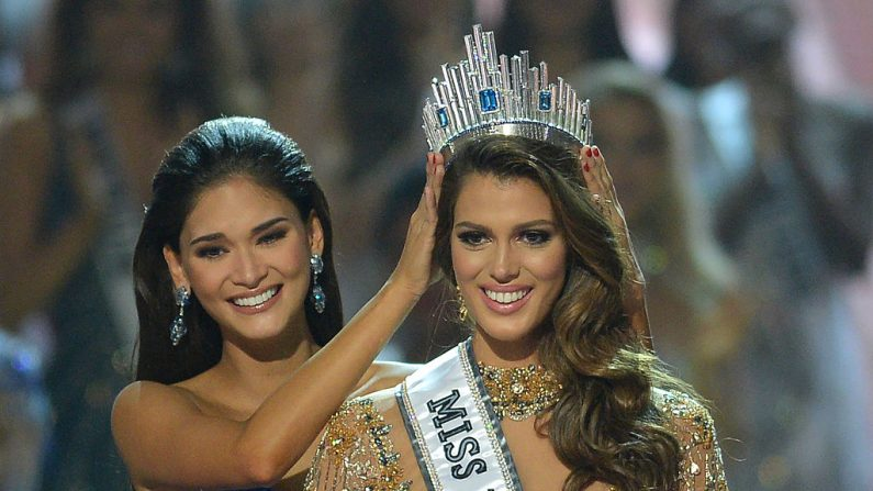 Iris Mittenaere fue elegida Miss Universo 2017(Foto TED ALJIBE/AFP/Getty Images)