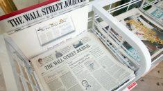Suplemento patrocinado en el Wall Street Journal lleva propaganda china