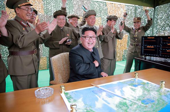 Kim Jong-un, el líder del régimen norcoreano  (Foto: KCNA/AFP/Getty Images)