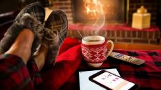 Relájese… la temporada de invierno lo fomenta