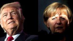 Trump recibirá a Ángela Merkel en la Casa Blanca la próxima semana