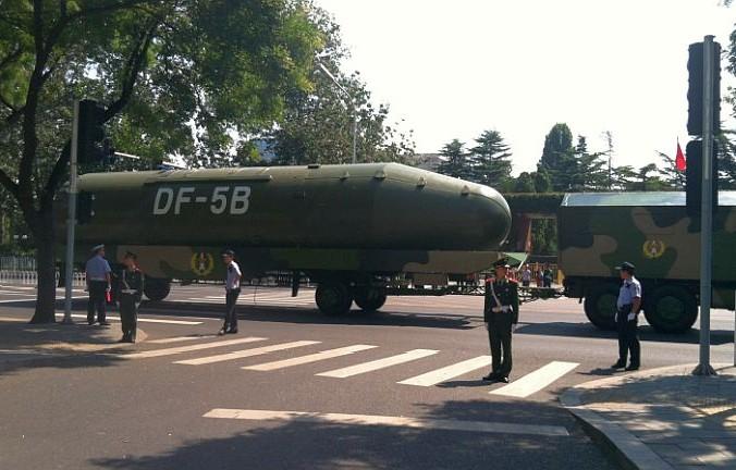 El DF-5B. (Wikimedia Commons)
