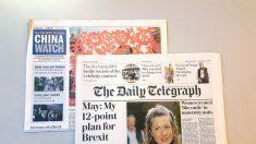 Los vínculos del Daily Telegraph con el Partido Comunista Chino son profundos