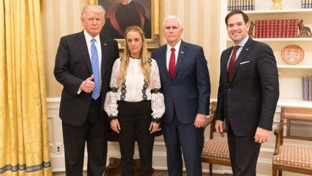 Donald Trump pidió a Venezuela liberar al líder opositor Leopoldo López. (@realDonaldTrump)