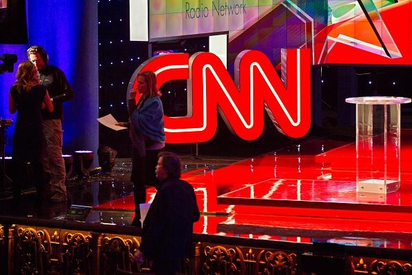 Escenario del debate presidencial republicano, organizado por la CNN, en el hotel The Venetian en Las Vegas, Nevada, 15 de diciembre de 2015. (LE BASKOW / AFP / Getty Images)