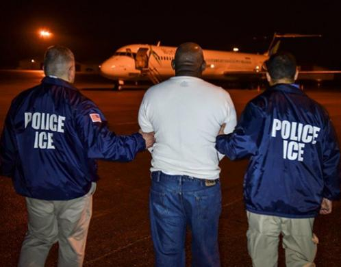Foto del Servicio de Inmigración y Control de Aduanas (ICE, por sus siglas en inglés).