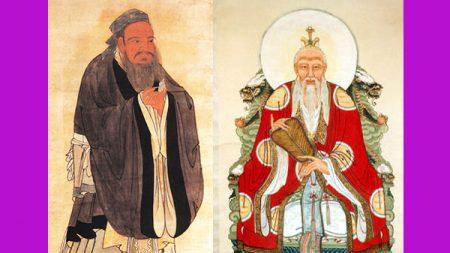 Historia de cuando Confucio conoció a Lao Zi