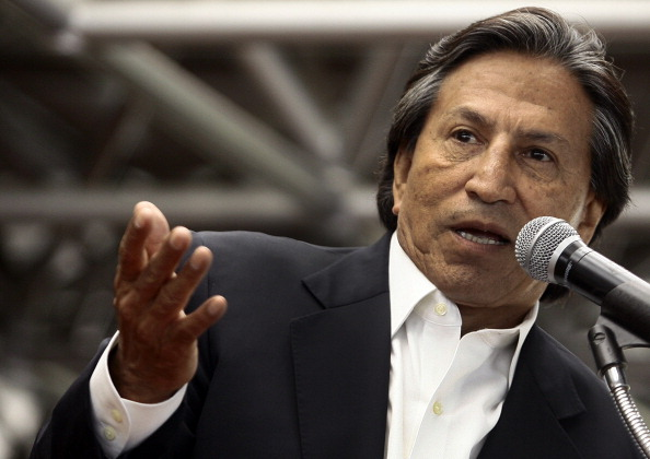 El expresidente de Perú Alejandro Toledo. (Foto: GERALDO CASO/AFP/Getty Images)