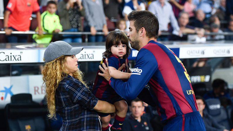 Se reveló la enfermedad que sufrió Milan, el hijo de Shakira y Piqué (Foto David Ramos/Getty Images)