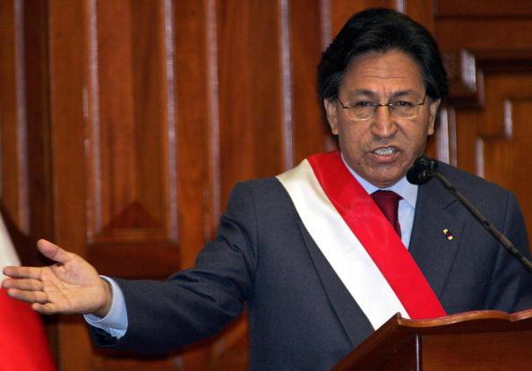 Toledo llegó a la presidencia tras luchar contra el gobierno de Alberto Fujimori. (Foto: JAIME RAZURI/AFP/Getty Images)