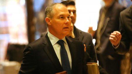 Senado confirmó a Scott Pruitt para la Agencia de Protección Ambiental