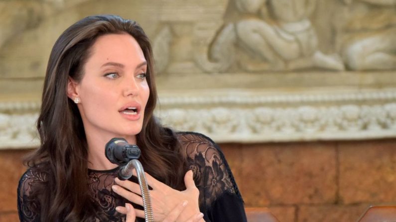 Angelina Jolie (Foto TANG CHHIN SOTHY/AFP/Getty Images)