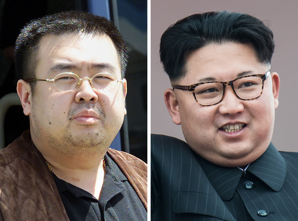 Tanto Kim Jong-un como Kim Jong-nam son hijos del fallecido dictador Kim Jong-il, pero con distintas madres. (Foto: TOSHIFUMI KITAMURA,ED JONES/AFP/Getty Images)