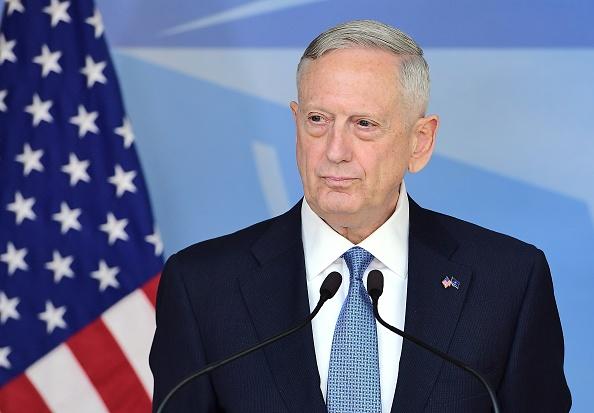 Jim Mattis, Jefe del Pentágono. (Foto: EMMANUEL DUNAND/AFP/Getty Images)